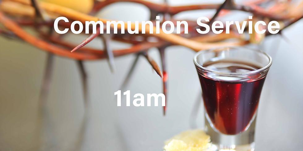 19th July Sunday 11am Communion Service 週日早上十一点聖餐崇拜