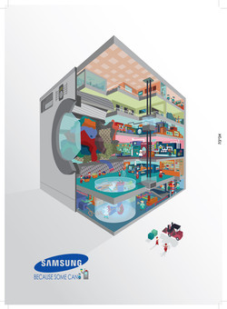 samsung washing machine ad