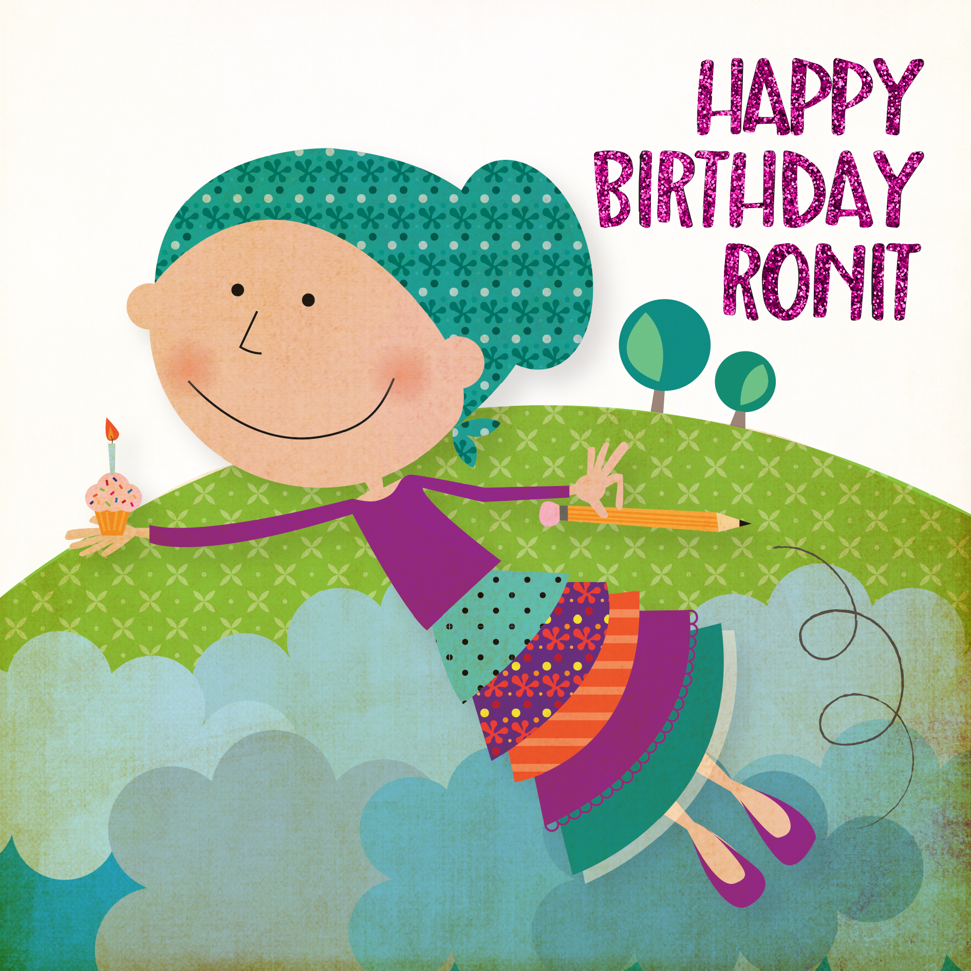 happy birthday Ronit