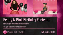 Pretty N Pink Birthday Portraits