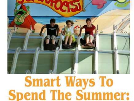 """Smart ways to spend the summer:  Keep kids off the """"The Summer Slide"""""""