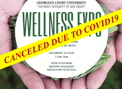 The Georgian Court Holistic Expo has been Canceled - No Expo this Weekend!