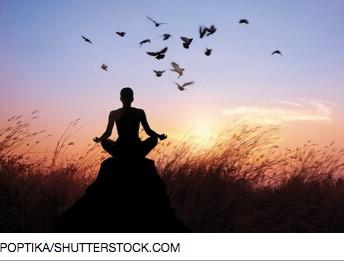Meditation Raises Spirits More than a Vacation