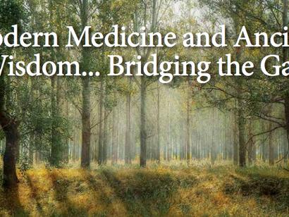 Modern Medicine and Ancient Wisdom...Bridging the Gap