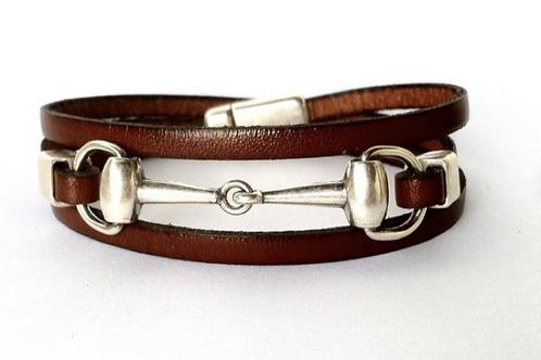 Elegant Snaffle Bit Bracelet