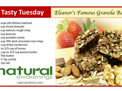 Tasty Tuesday: Eleanor's Famous Granola Bars