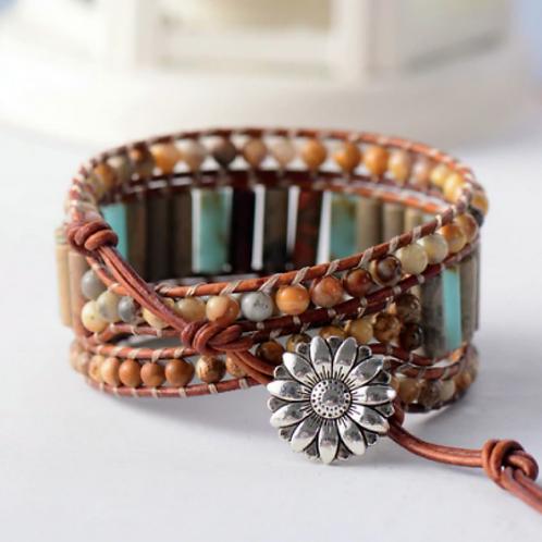 Boho Grounding Wrap Bracelet
