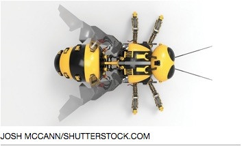 Buzzing RoboBees: Tiny Robots Seen as Tech Fix for Reduced Bee Population