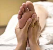 Reflexology, as easy as kicking off your shoes and sitting back to relax!