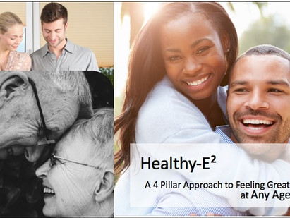Healthy-E² A 4 Pillar Approach to Feeling Great at Any Age