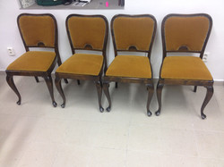 Židle po renovaci