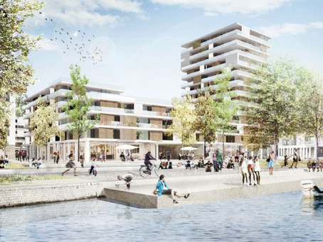 Eco-district on the Coronmeuse Peninsula in Liège: sanitation process started
