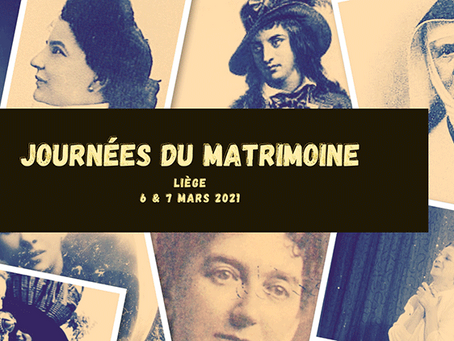 First edition of the Journées du Matrimoine: Liège's Female Heritage in the spotlight
