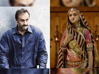 Bollywood box office report: Sanju, Padmaavat turn the tide in first half of 2018