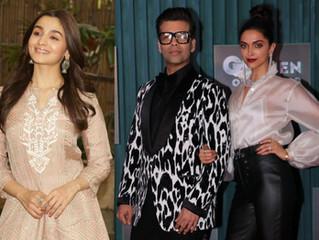 Deepika Padukone, Alia Bhatt to be First Guests on 'Koffee With Karan' Season 6