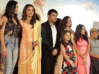 Kapil Sharma and the cast of 'Firangi' launch the trailer of the film