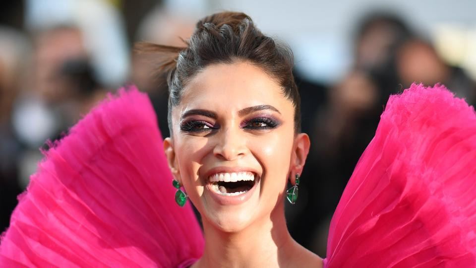 Deepika Padukone poses at the 71st edition of the Cannes Film Festival.(AFP)