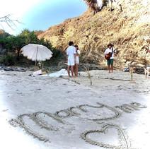 Beach Serenades in Byron Bay.