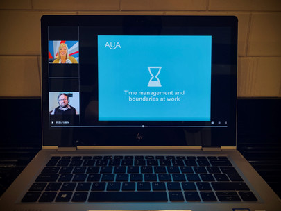 Webinar training: Association of University Administrators (AUA)