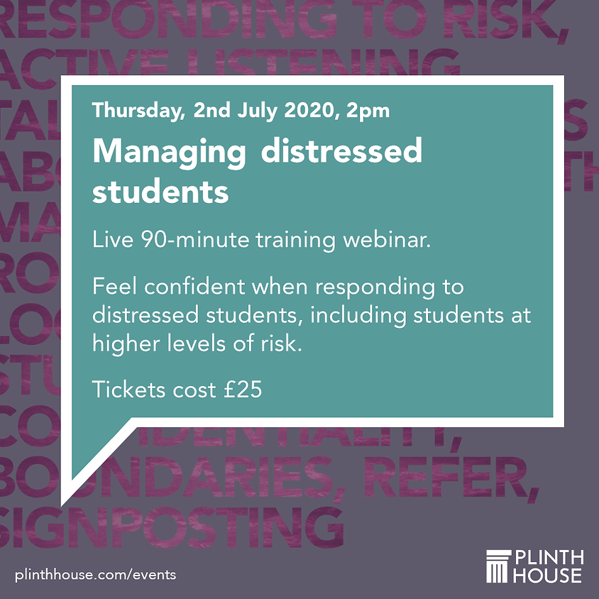 Managing distressed students