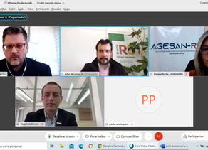 Sema e Agesan-RS debatem regulação de serviços da Corsan