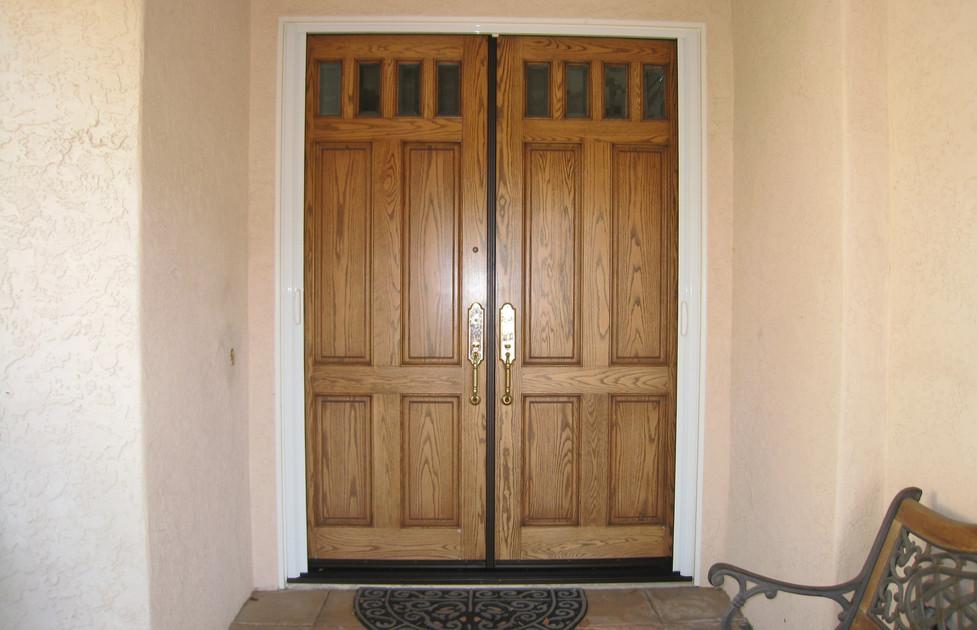 Front Double (French ) Door