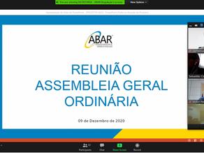 Abar realiza Assembleia Geral e Agesan-RS acompanha evento com mais de 60 agências