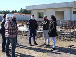 Prefeito de Tramandaí, Agesan-RS e Corsan vistoriam Estação de Tratamento de Esgoto