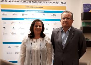 PRESIDENTE DA AGESAN, PREFEITA CORINHA MOLLING VISITA A ABAR