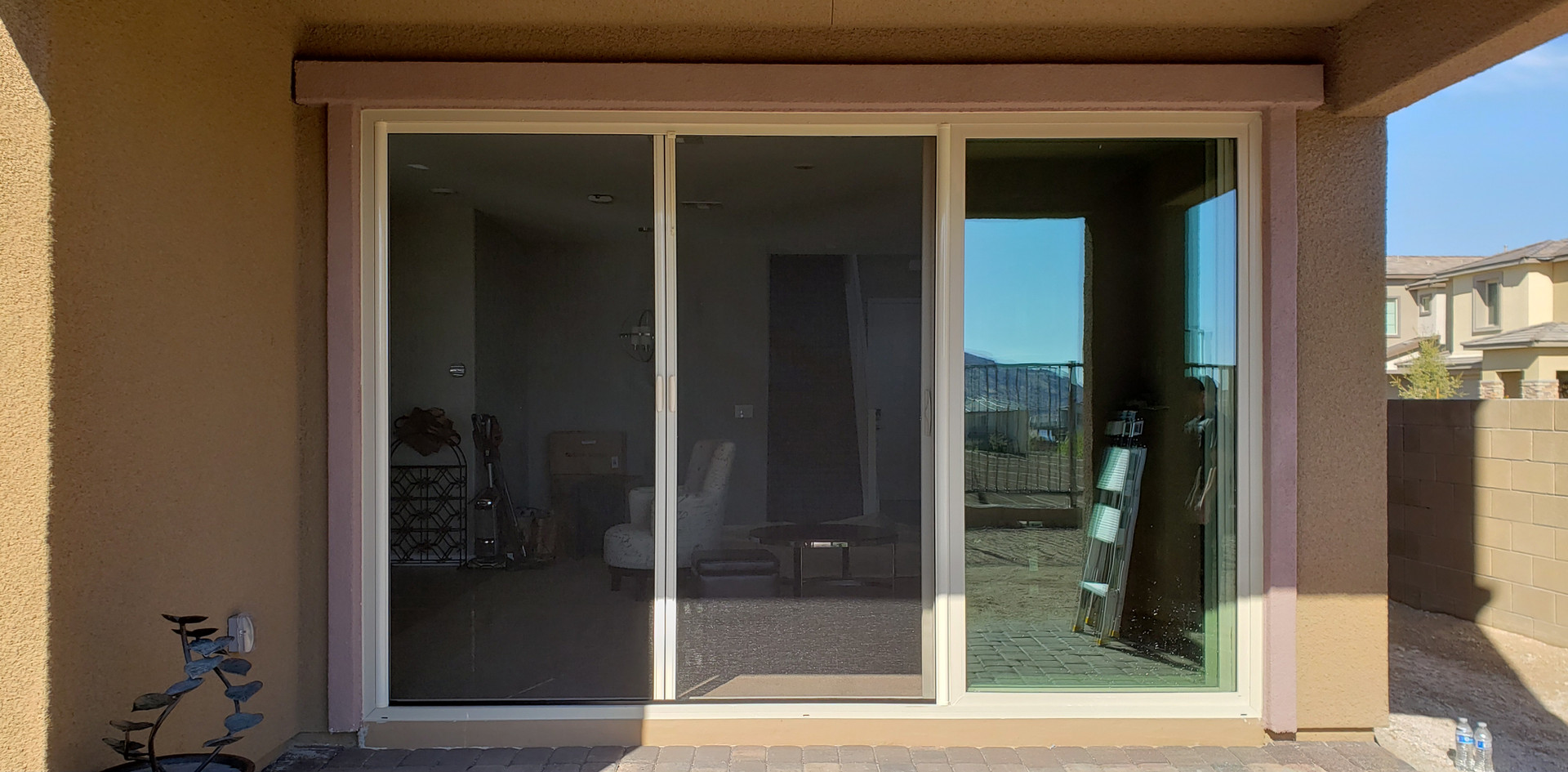 Double Retractable Screen Door