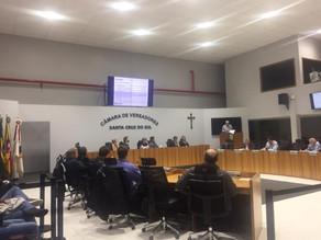 AUDIÊNCIA PÚBLICA DA REVISÃO TARIFÁRIA DA CORSAN, EM SANTA CRUZ DO SUL.