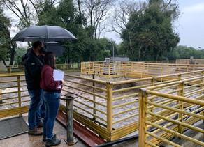 Sapucaia do Sul recebe equipe da Agesan-RS para a fiscalização