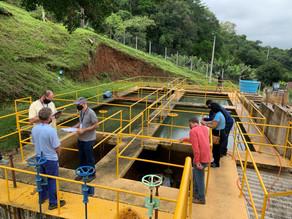 Estações de tratamento de água de Três Coroas recebem fiscalização