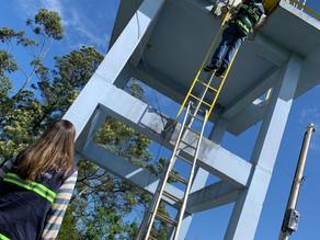 Agesan-RS realiza fiscalizações no sistema de água e esgoto de Estância Velha