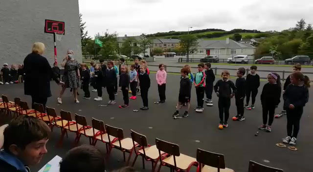 A special farewell from Senior Infants