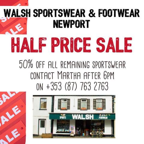 Walsh's Footwear Shop