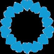circle of hearts blue.png