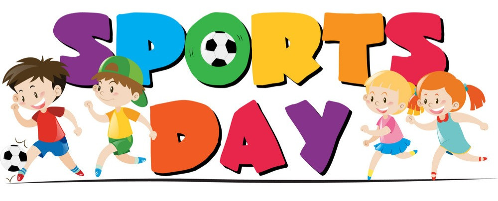 sports clipart banner sport theme kid playing shutterstock child vector friday two