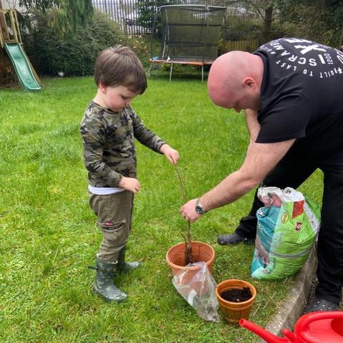 Tree Planting success!