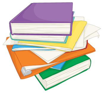 Collecting books from school