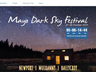 Mayo Dark Sky Festival website goes live!