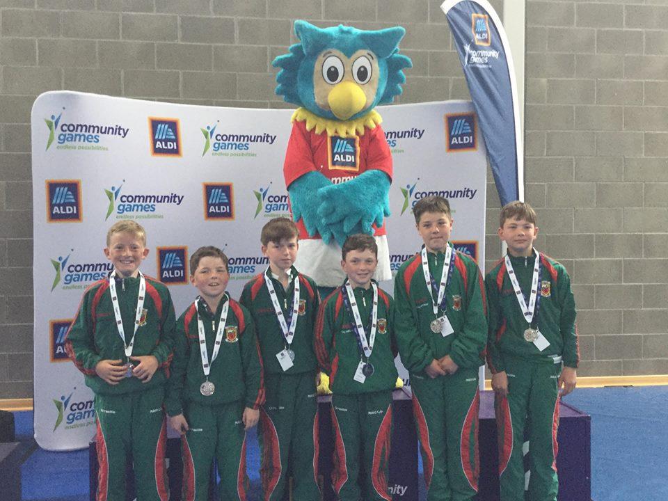 Community Games Silver medal winners