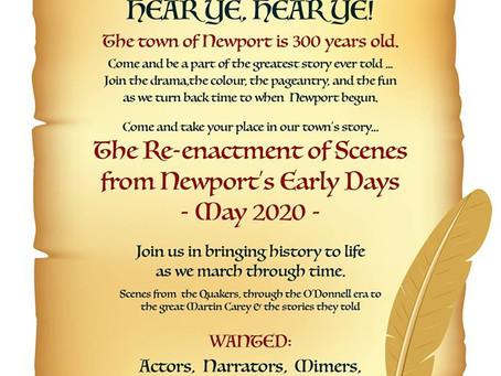 Newport 300 Re Enactment Information Evening