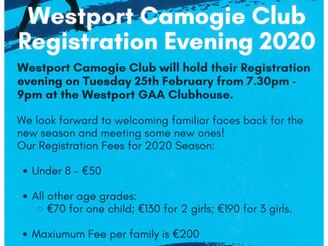 Camogie Registration