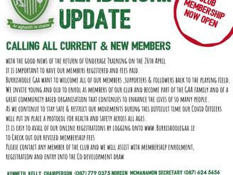 Burrishoole GAA news
