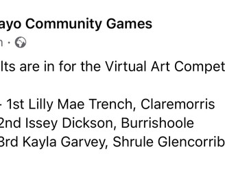Community Games Art winner!