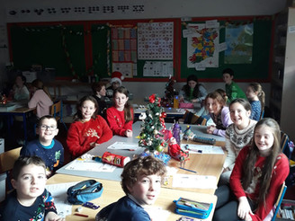 Christmas in 4th Class