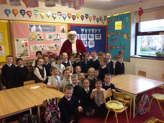Santa comes to Newport NS!