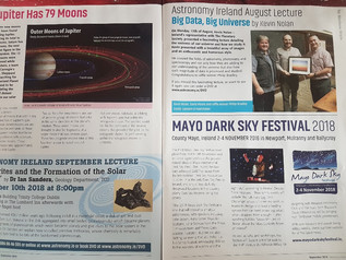 Astronomy Ireland September 2018