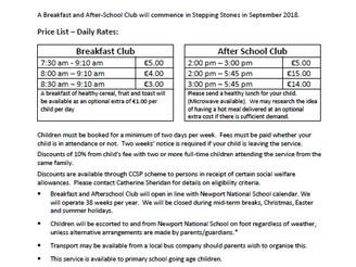 Breakfast Club / After School Club